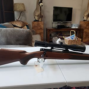 Winchester Model 70 Rifle in 300 Weatherby