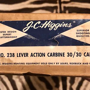 1963 JC Higgins model 45 (Marlin 336) in 30-30 lever-action Rifle