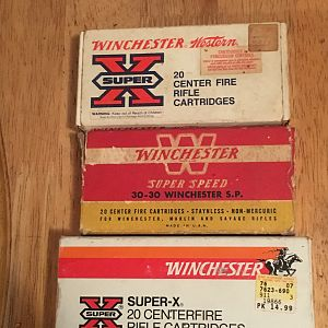 Winchester Cartridges