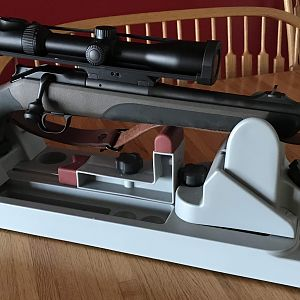 Blaser R8 w/ 375H&H Safari Barrel, Contessa Mount and Swaro Scope