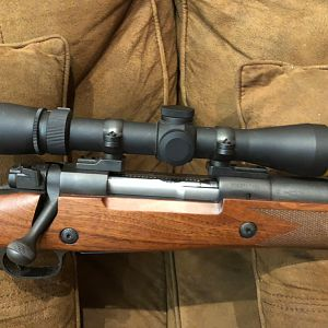 Winchester 70 Safari Express Rifle in 375 H&H with Leupold 2.5-8 VX3 Scope