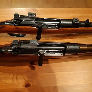 Mannlicher Schonauer Rifles in 8x68S calibre