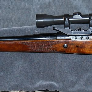 Oberndorf 98 Gew Rifle from 1916 rebarrelled with a Shilen 7x57mm