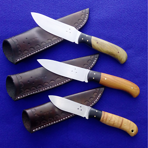 Thumbrest Skinner, Hunter Skinner & Mini Skinner Knives