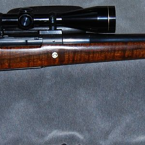 1937 Winchester M70 375 H&H Rifle