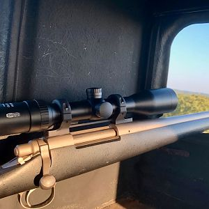 .375 H&H with MeoStar R1 1.5-6x42 Scope