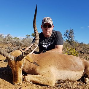 South Africa Hunting Impala