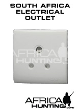 South African Electrical Outlet Standard Is 220 230 Volts Ac 50 Hz Three Pin 15 Amp Outlets