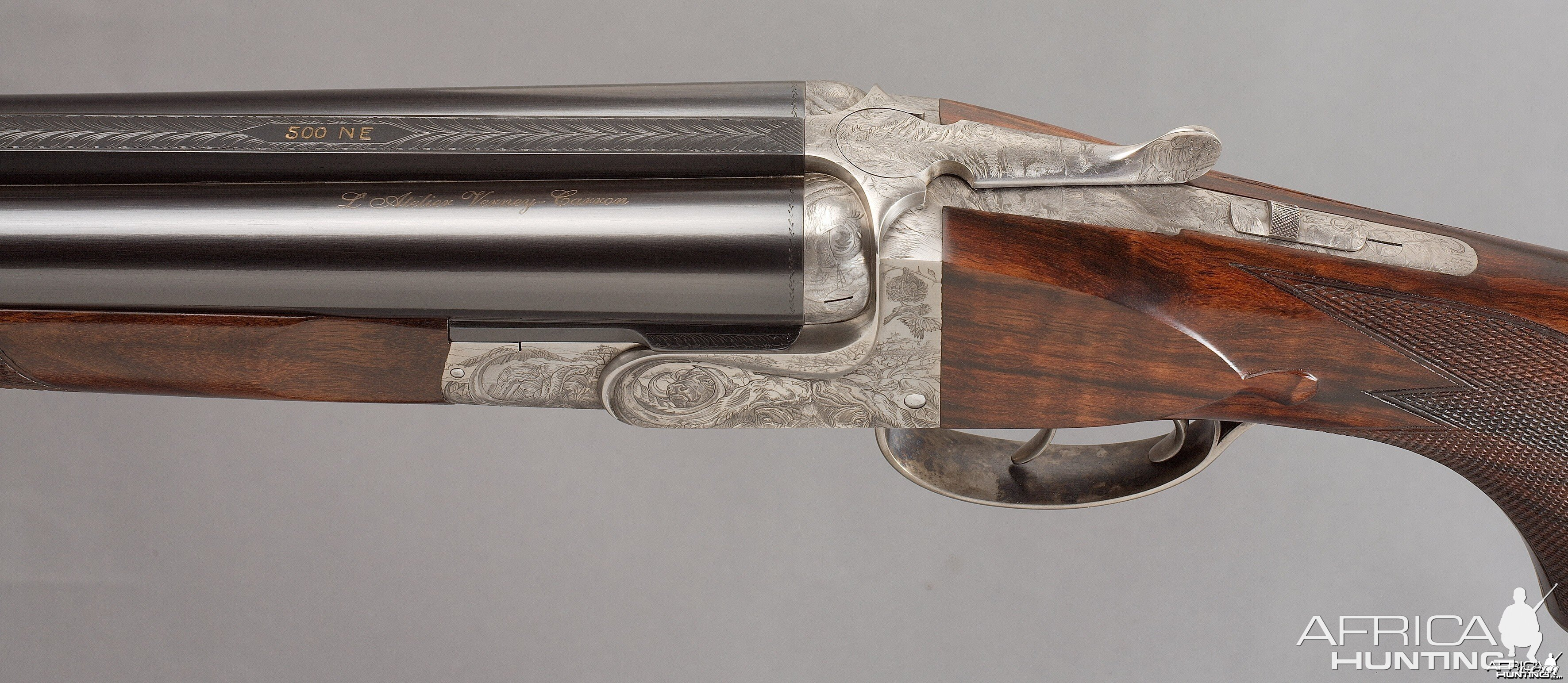 Azur Safari Eloge Double Rifle By Verney Carron With