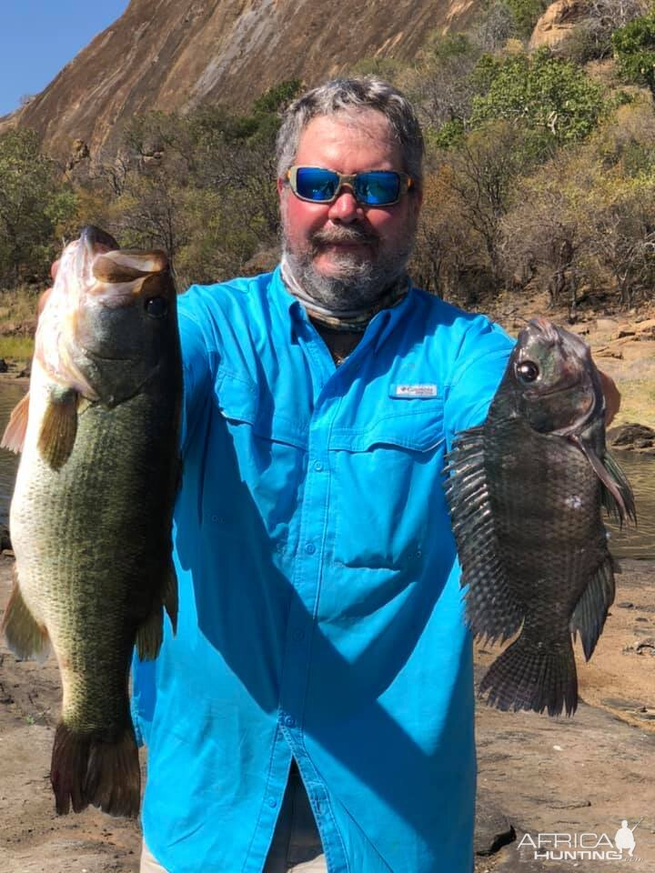 Bass Fishing Zimbabwe