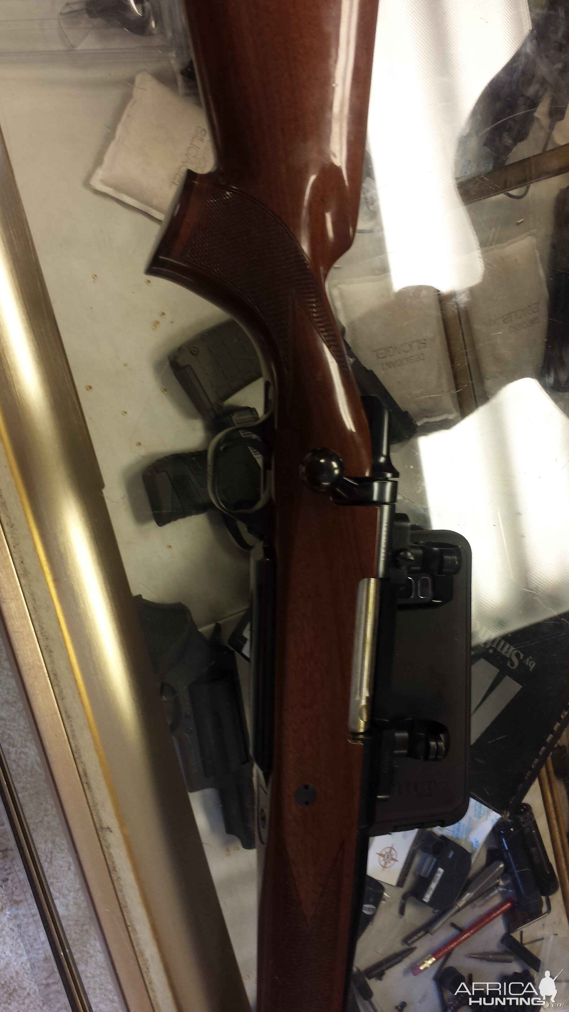 Browning BBR .338WM Rifle