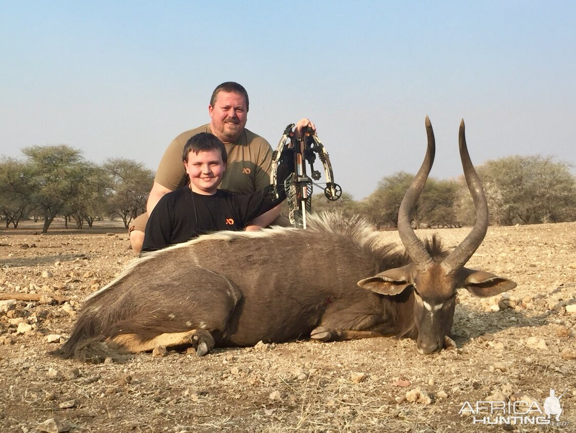 Crossbow Hunt Nyala in South Africa