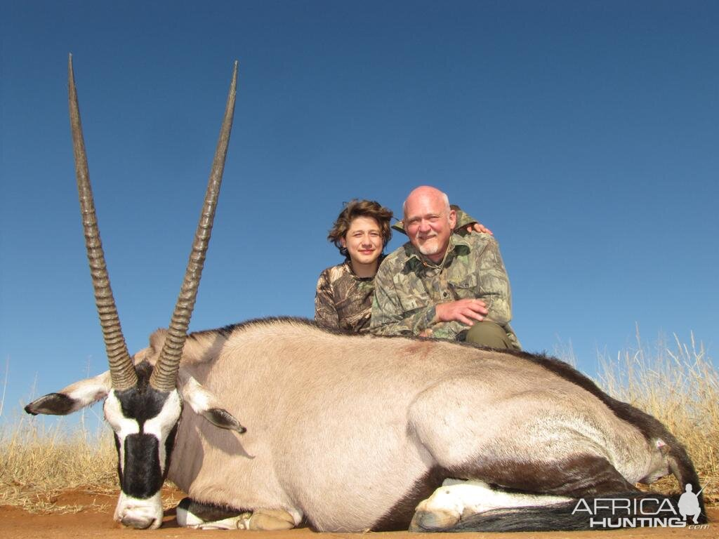 Gemsbok Hunting South Africa
