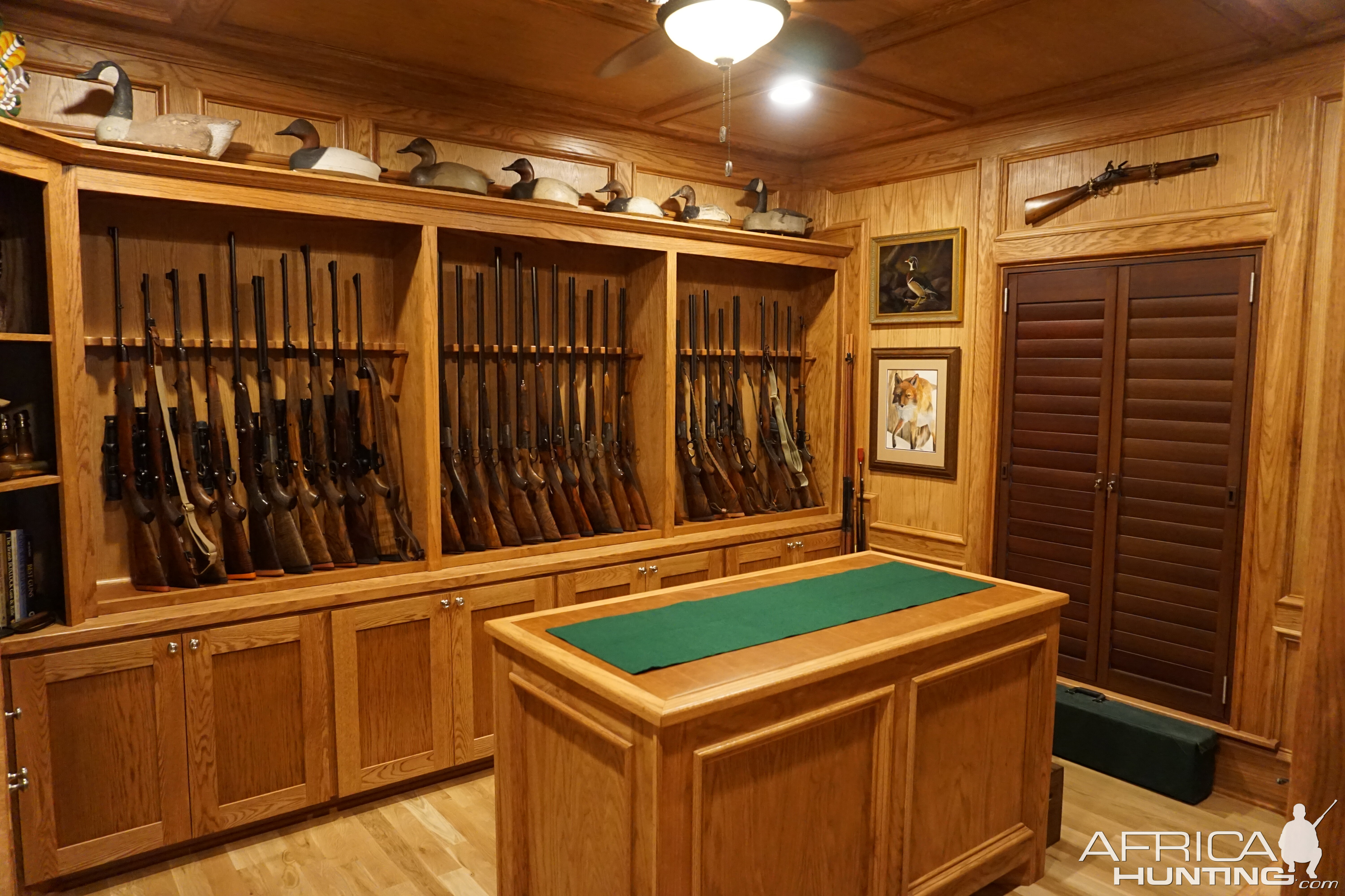 Gun Room Amp Trophy Room Done Hunting