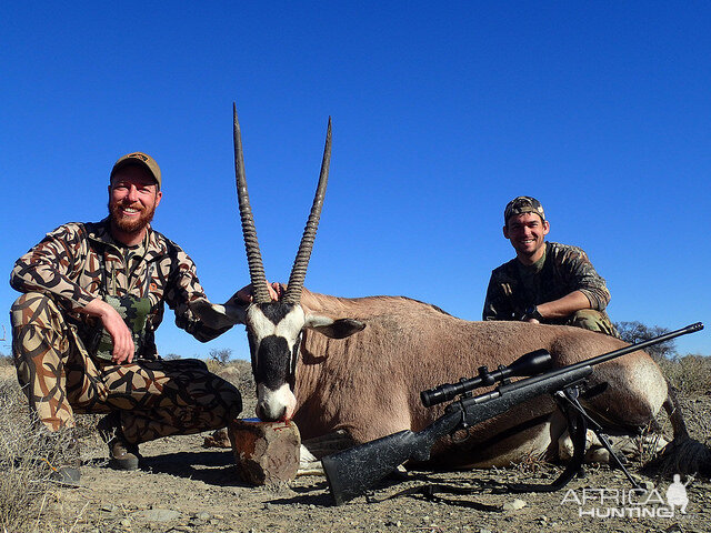 Hunt Gemsbok South Africa