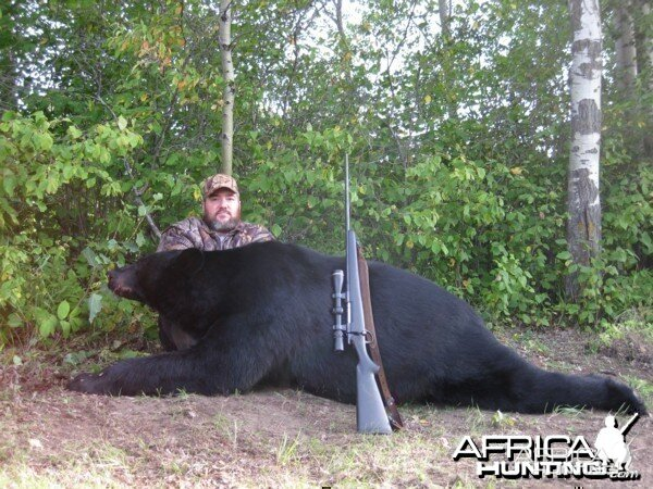 Hunting Black Bear Manitoba 2009