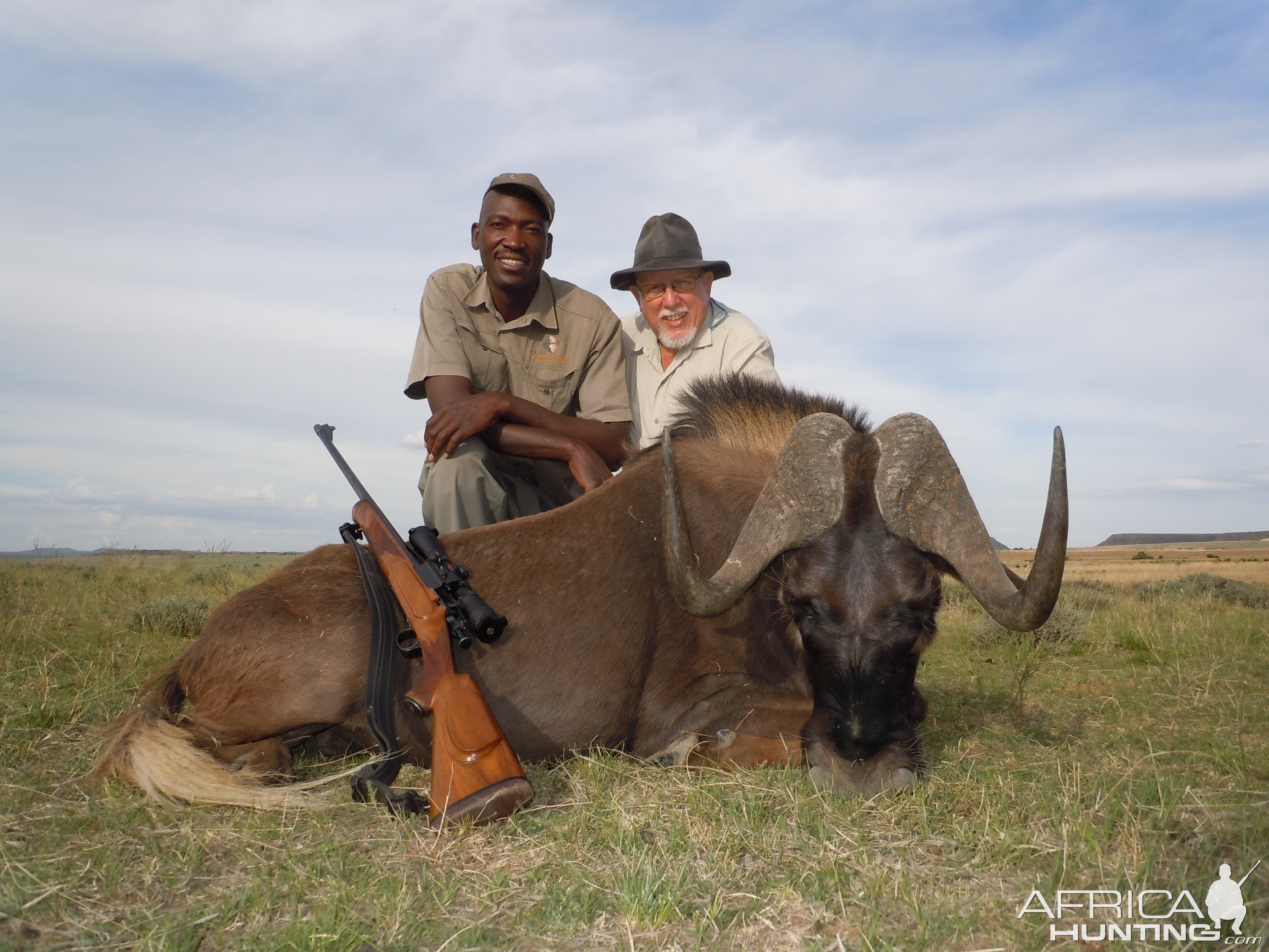 Hunting Black Wildebeest in South Africa