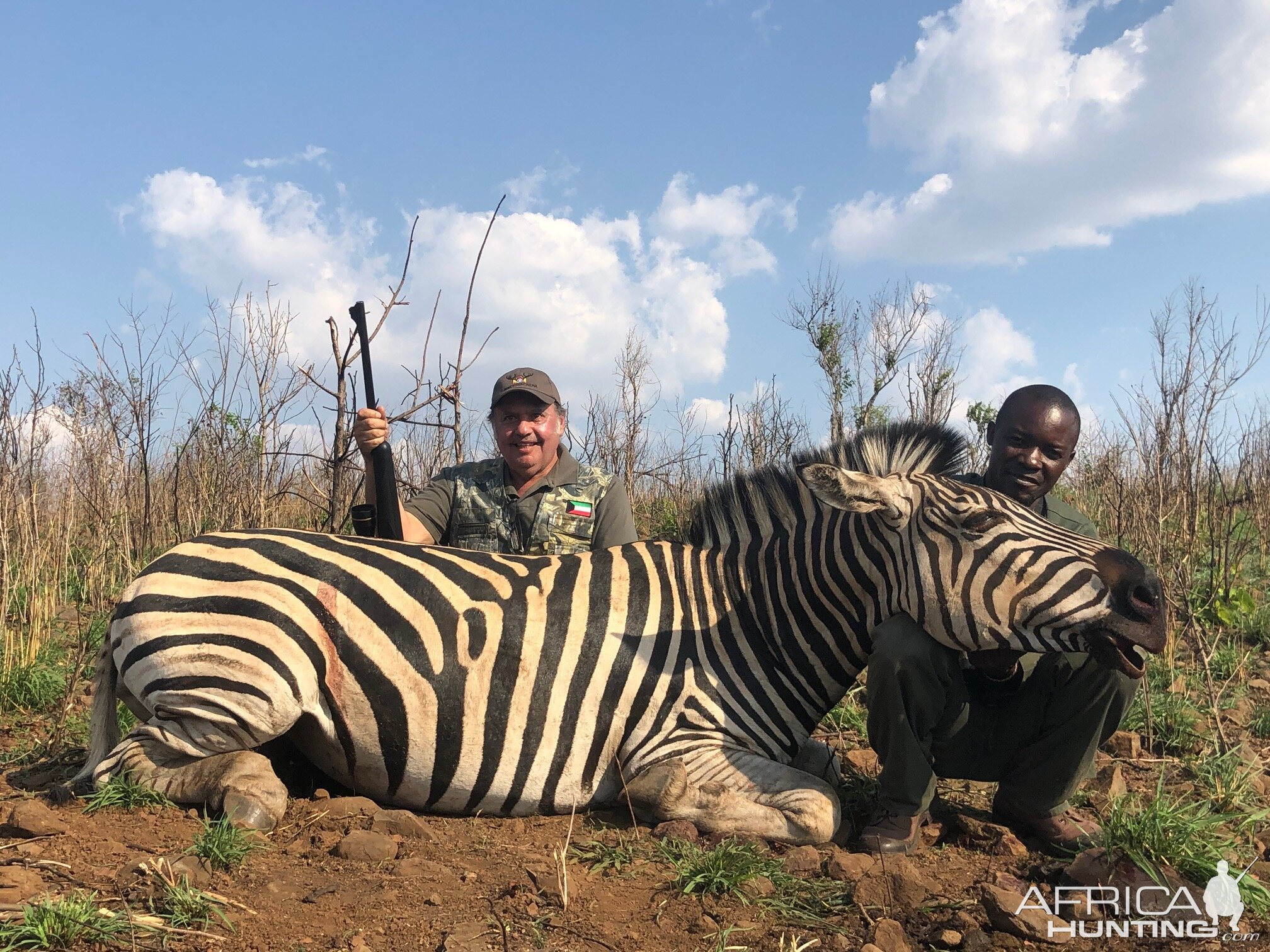 Hunting Burchell's Plain Zebra in Zimbabwe
