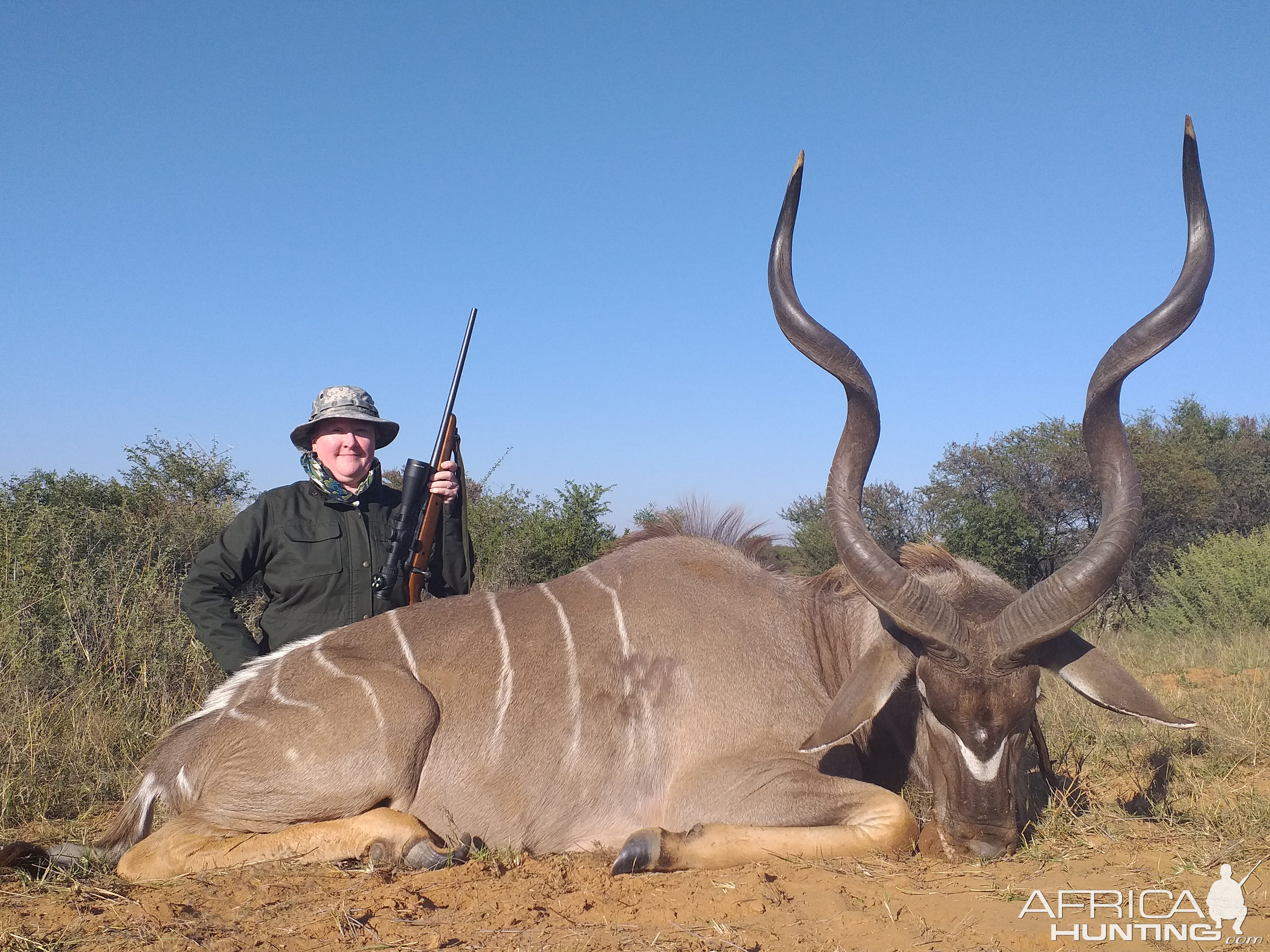 Kudu at Sandveld Nature Reserve
