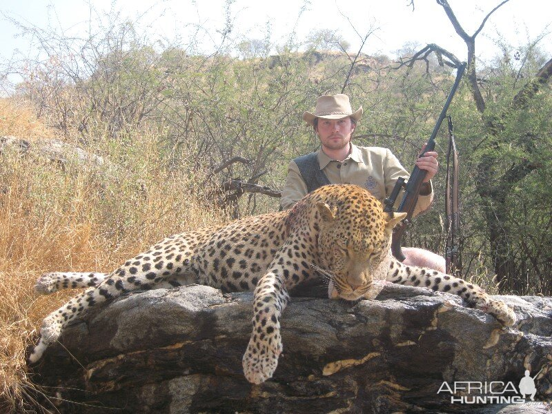 Leopard Hunt in Namibia