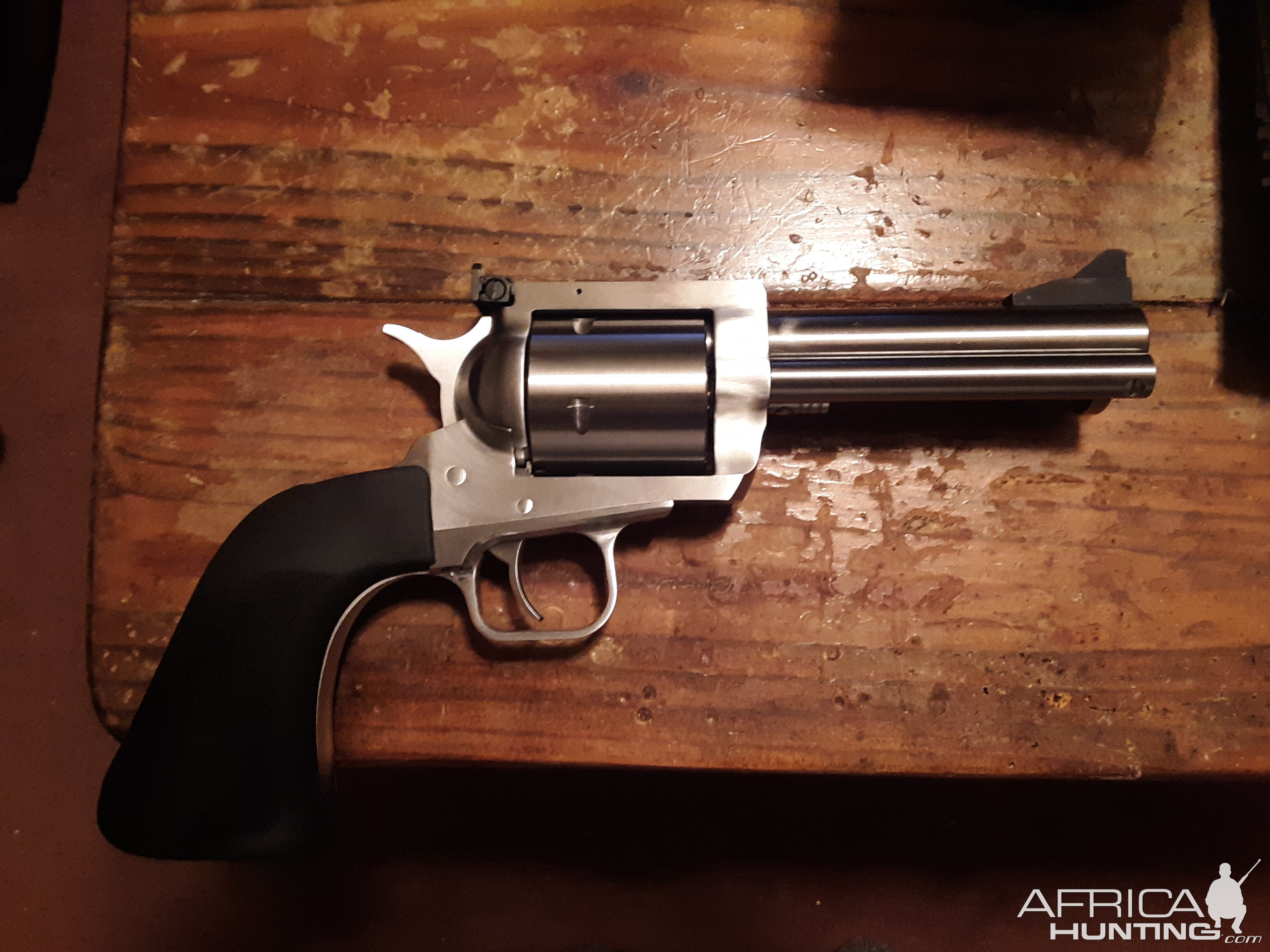 Magnum Research Industries BFR Revolver with 5 inch barrel in 44RM