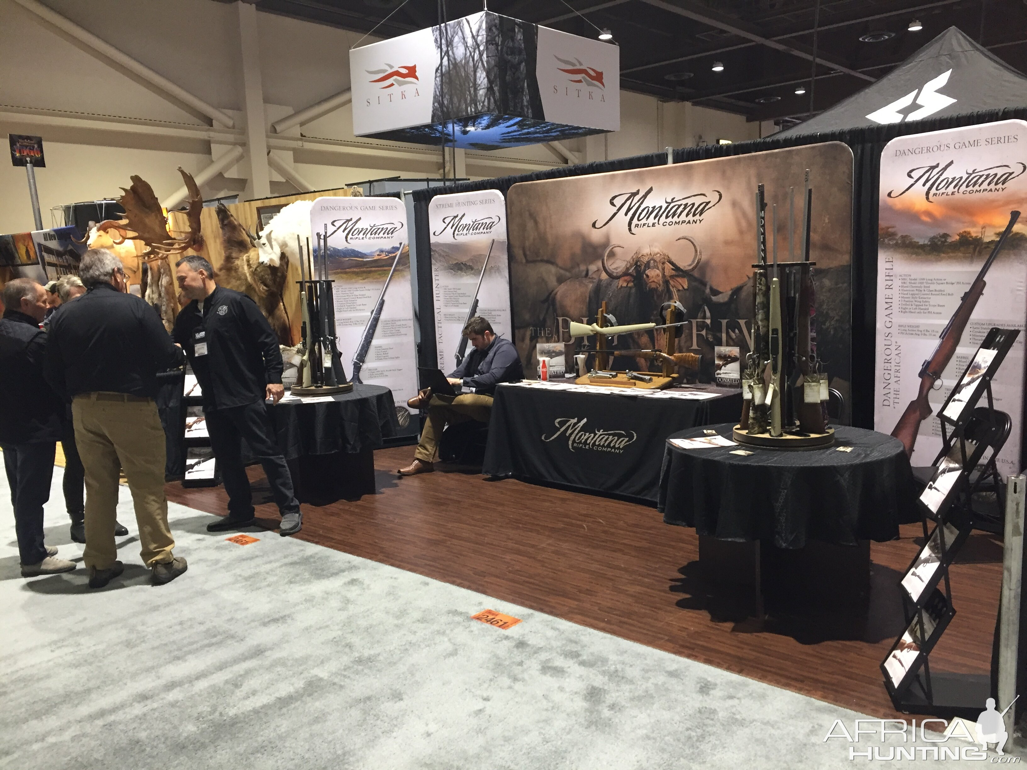 Montana Rifle Company at Safari Club International Convention Reno 2019