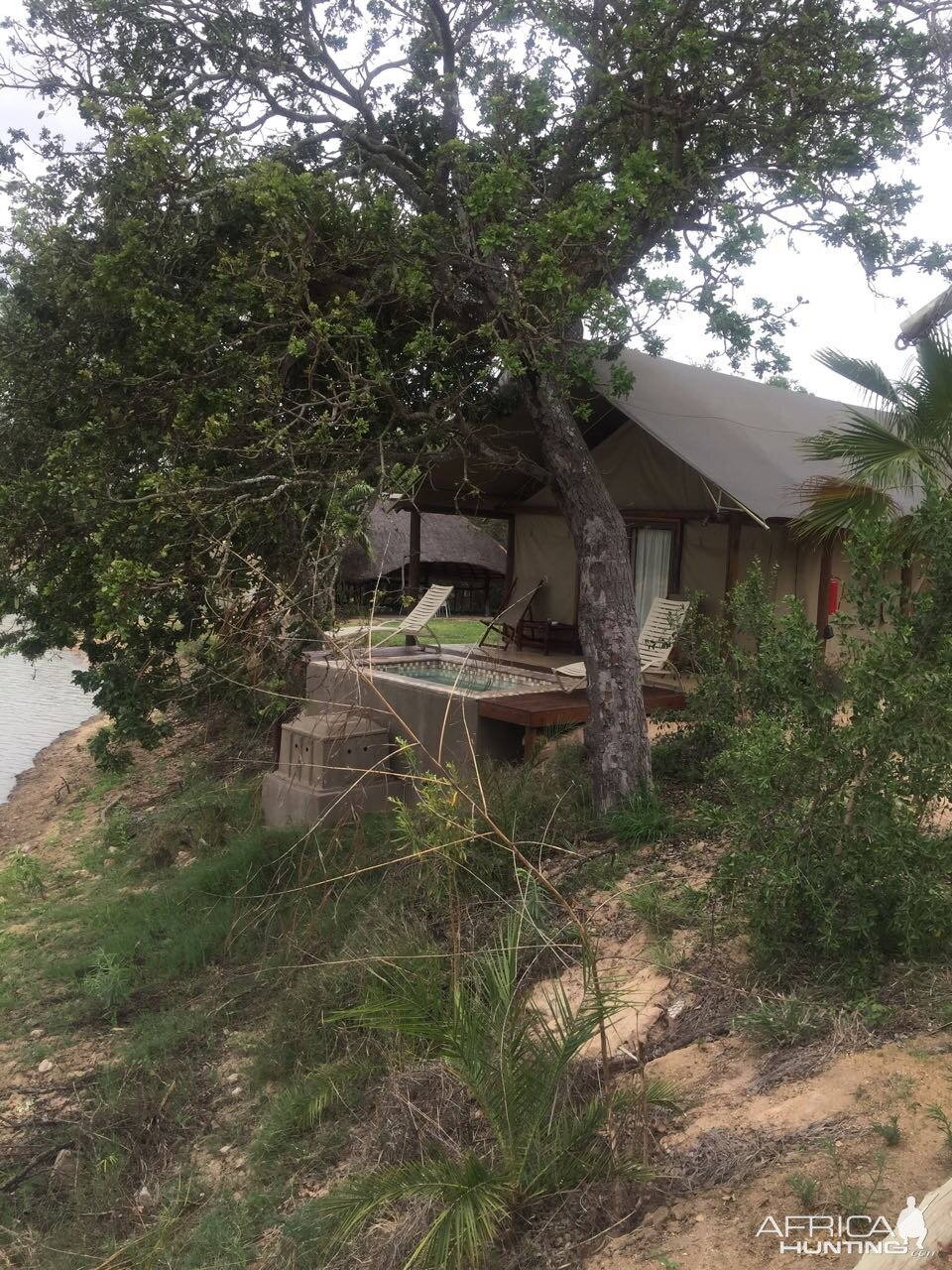 Mozambique Hunting Camp