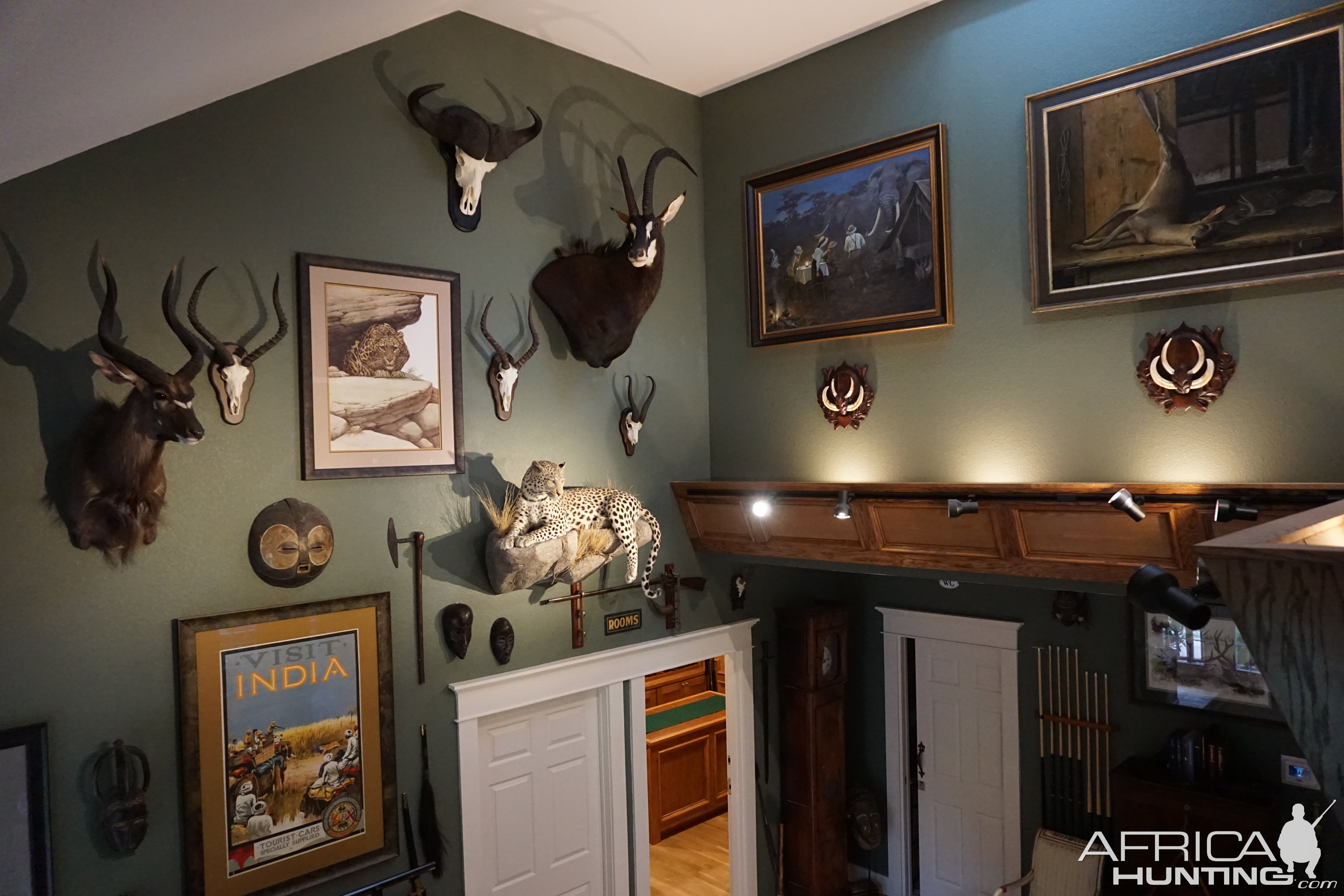What Are Best Colors To Paint Walls In A Trophy Room
