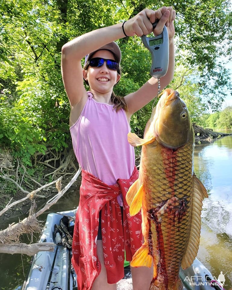 USA Bowfishing Carp