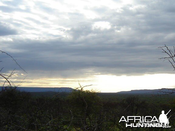 View of the Waterberg Plateau in Namibia